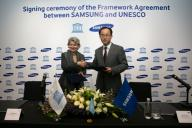 UNESCO and Samsung announce partnership
