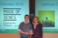 Made of Genes, ganadora de la competición para emprendedores Startups Connect 2015